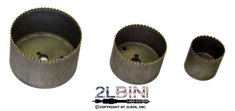 T1-8 Carbide Tipped Holesaw Cutters 7 1/2inch