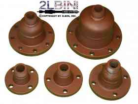 6inch ANSI - ISO - Class 150 lbs Flanged Adaptors