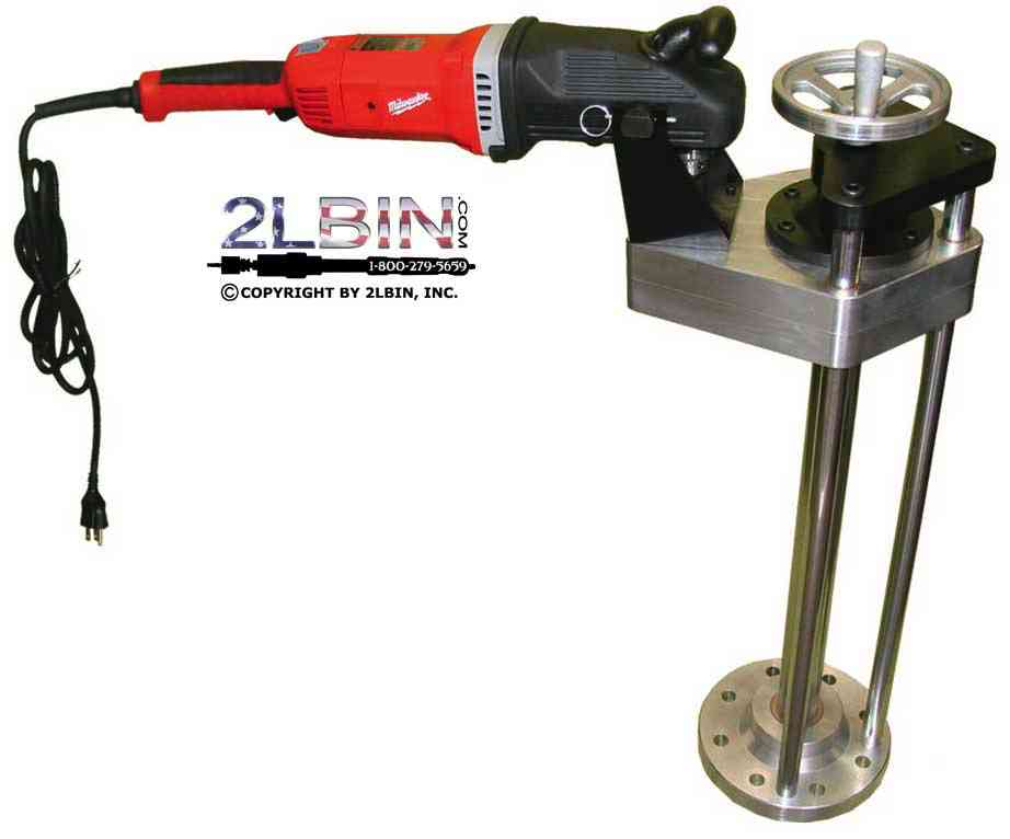 T-24E 3inch-8inch taps 24inch Travel Electric Drive