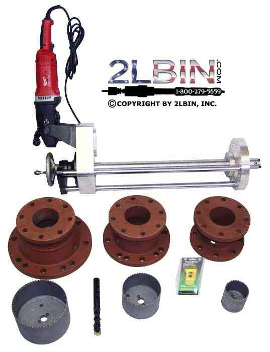 T-24e Hot Tapping Machine Complete Kit